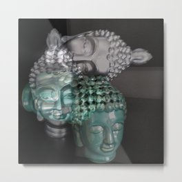 Scattered Buddhas Metal Print
