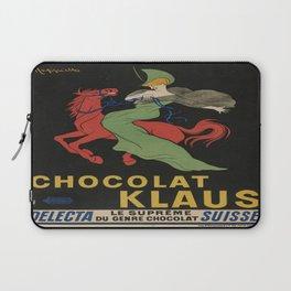 Vintage poster - Chocolat Klaus Laptop Sleeve