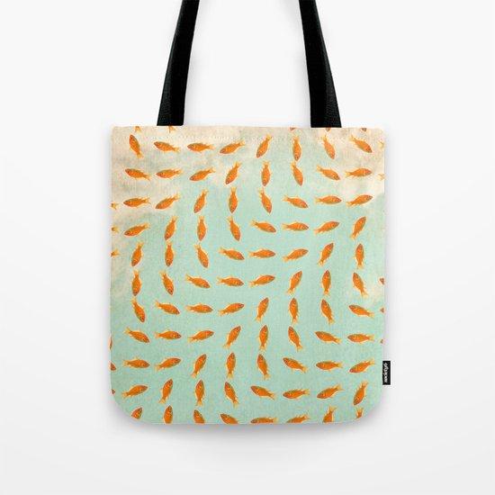Goldfish Pattern Tote Bag