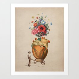 A Gift For You Art Print
