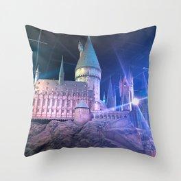 Hogwarts Model 3 Throw Pillow