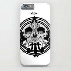 skull and pen iPhone 6s Slim Case