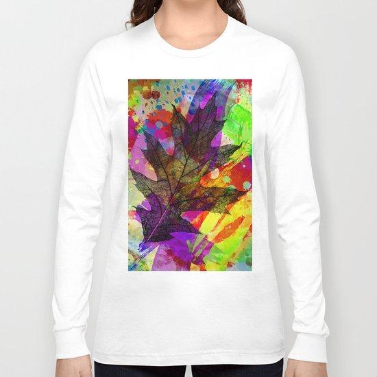 Splash leaf Long Sleeve T-shirt