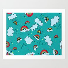 Rainbows #2 Art Print