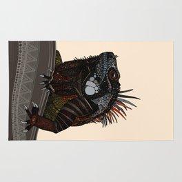 iguana ecru Rug