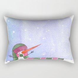 Snowmn Rectangular Pillow