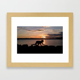 Tiger Child Framed Art Print