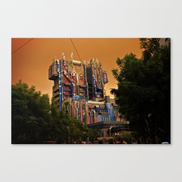Guardians of the Galaxy: Mission Breakout at California Adventure Canvas Print