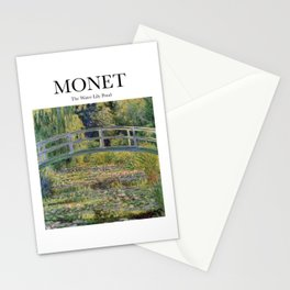 Monet - The Water Lily Pond Stationery Cards