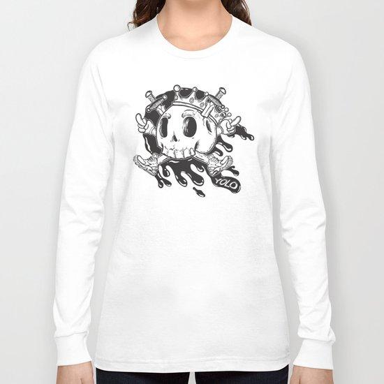 Yolo Skull Long Sleeve T-shirt