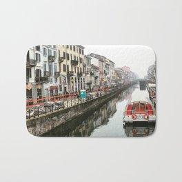 Milano Navigli - Italy Bath Mat