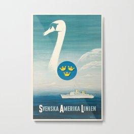 Nautical Art 9 Metal Print