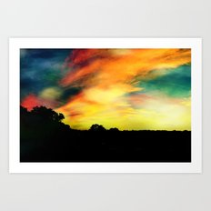 A Dreamscape Revisited Art Print