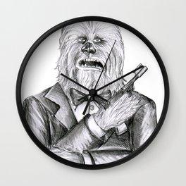 Wookie 007 Wall Clock