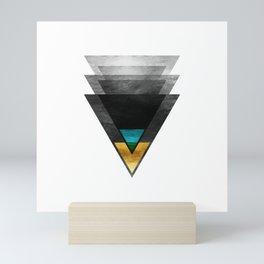 Downbeat Ode to Jazz Modern Minimalism Mini Art Print