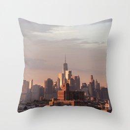 Mighty Manhattan Throw Pillow