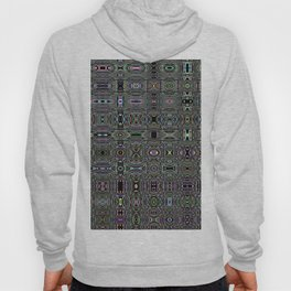 Colour Through Pattern Brights Hoody