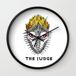 The judge Wall Clock
