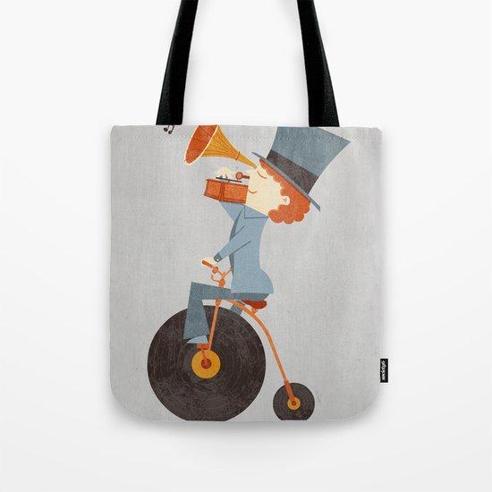 Rolling Old School Tote Bag