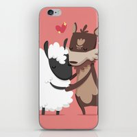 lamb iPhone & iPod Skins featuring Lamb by Alfonso Cervantes