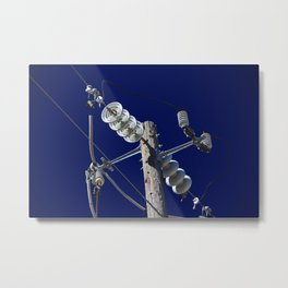 It's Electric I Metal Print