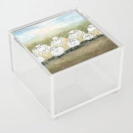 Lambinated Acrylic Box