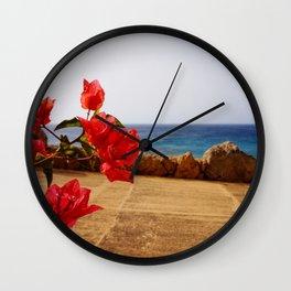 Ocean Path Wall Clock