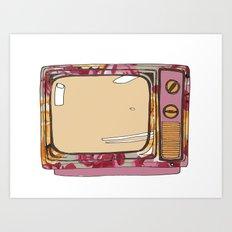 Tele mute Art Print