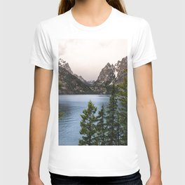 Grand Teton Wanderlust Lake Adventure - Nature Photography T-shirt