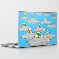 aliens Laptop & iPad Skins featuring Aliens by David Abse