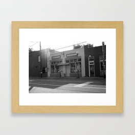 Sunshine Daydreams B&W Framed Art Print