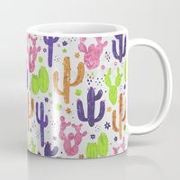 succulents Mugs featuring Succulents by 83 Oranges™