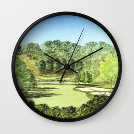 Glen Abbey Golf Course Canada Wall Clock