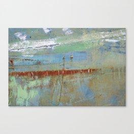 Harbour Abstract II - JUSTART (c) Canvas Print