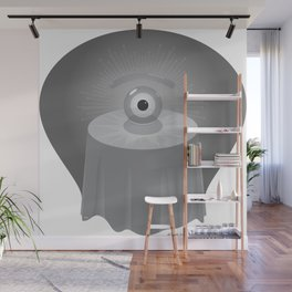 clairvoyant glance Wall Mural