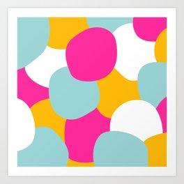 Coton Acidulé Art Print