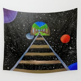 Away From Where? Wall Tapestry