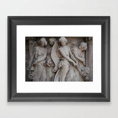 Sister Angels Framed Art Print