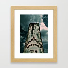 Greeted To Framed Art Print