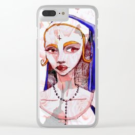 Mala Clear iPhone Case