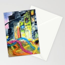 We Move Like Beams of Light Stationery Cards