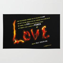 Love's Flame Rug