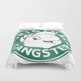 Franklin The Turtle - Starbucks Design Duvet Cover
