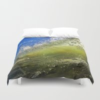 surf Duvet Covers featuring Surf by Nicklas Gustafsson