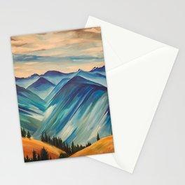 Hurricane Ridge, Olympic National Park Stationery Cards