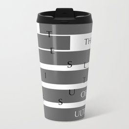 Colossians 1:15-20 Metal Travel Mug