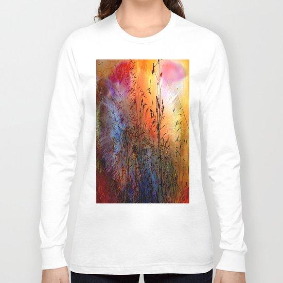 Vintage Nature explosion Long Sleeve T-shirt
