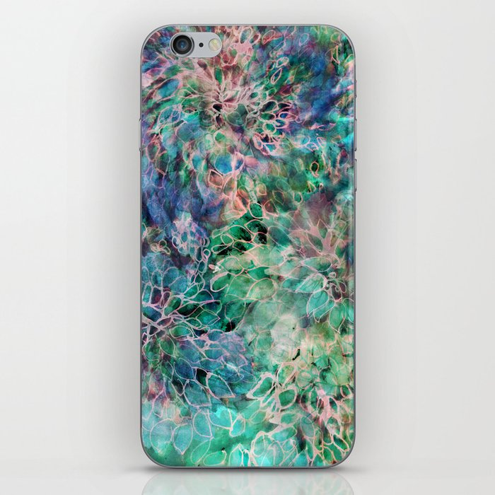Banksia Cool Blue iPhone Skin