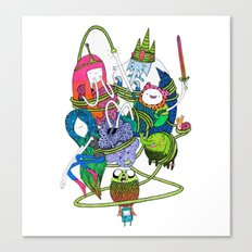 Adventure Time fan art celebration! Canvas Print