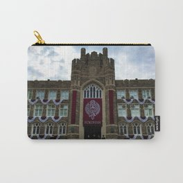 Fordham University Commencement Keating Hall Carry-All Pouch